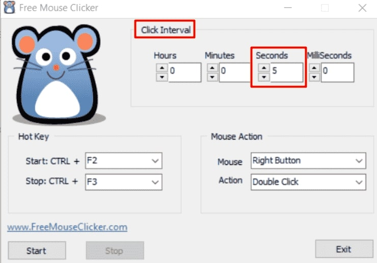 how to use free mouse clicker