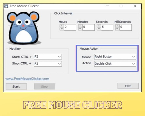 Free mouse clicker for windows